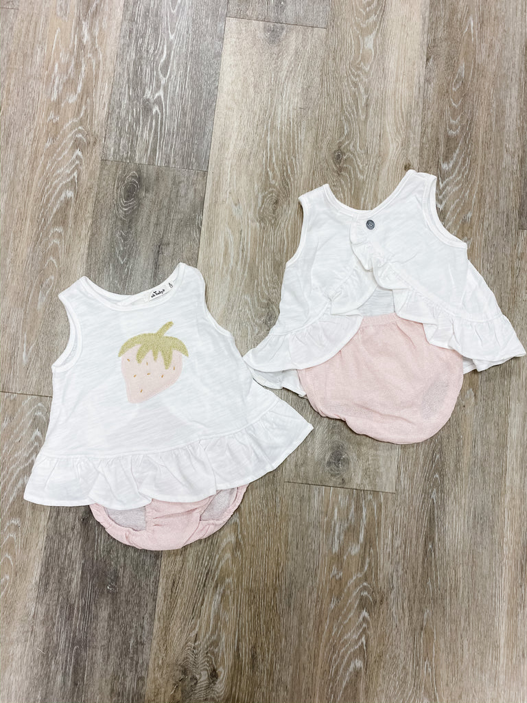Oh Baby! Strawberry Set  - Doodlebug's Children's Boutique