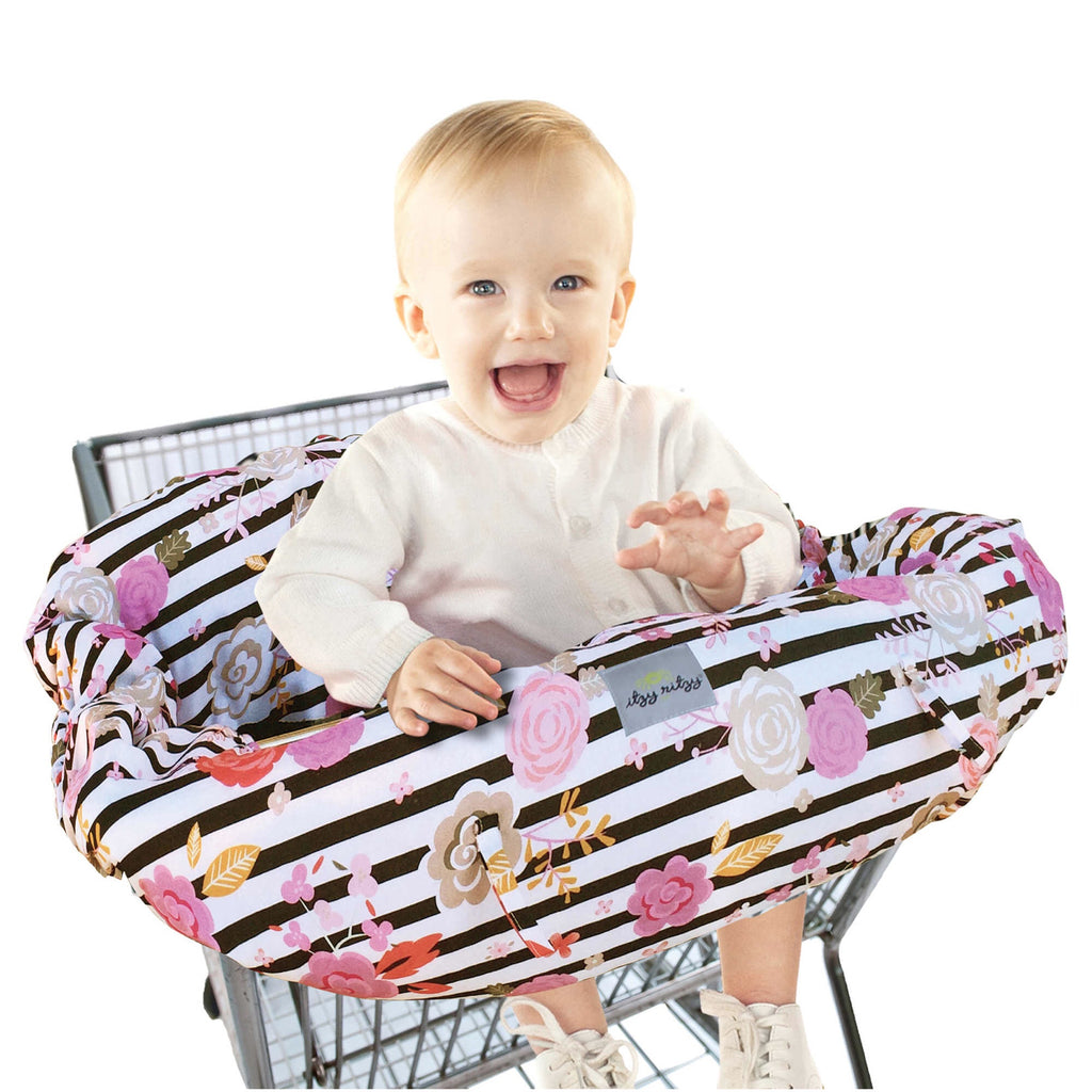 "Itzy Ritzy ""Ritzy Sitzy"" Shopping Cart and High Chair Cover  - Doodlebug's Children's Boutique"