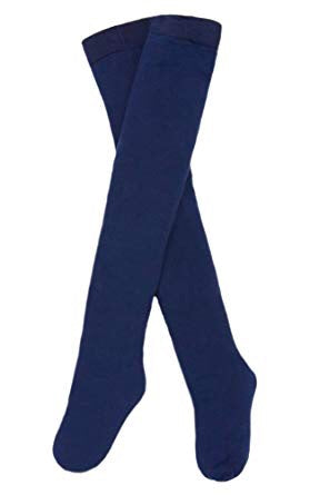 Le Top Tights 2T-4T / Navy - Doodlebug's Children's Boutique
