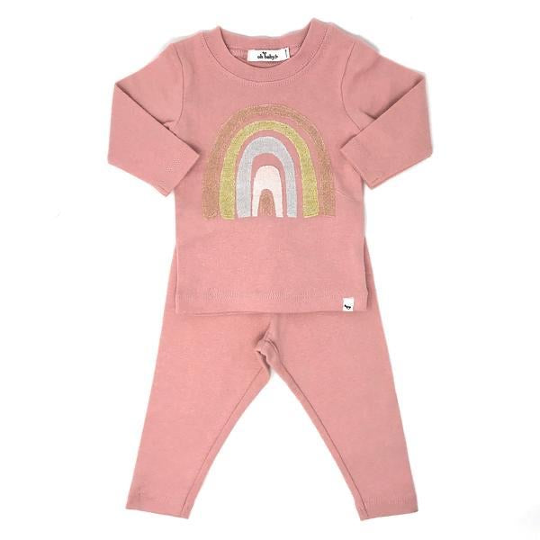 Oh Baby! Blush Stardust Rainbow Set  - Doodlebug's Children's Boutique