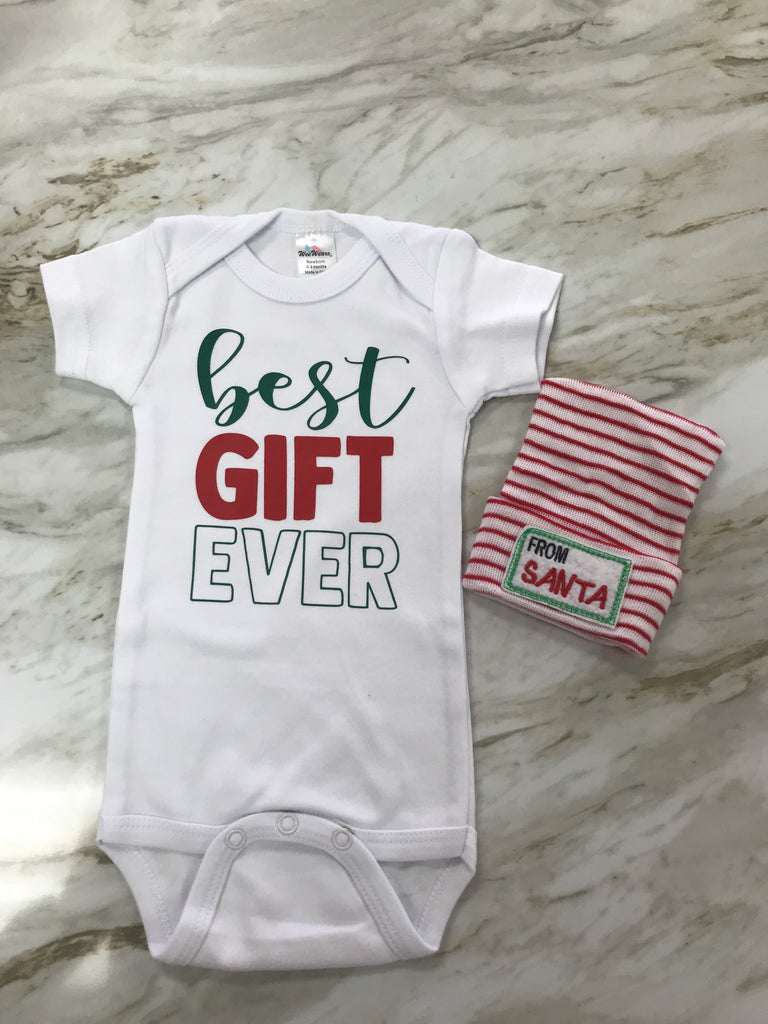 Best Gift Ever Onesie Gift Box Best Gift Ever - Doodlebug's Children's Boutique