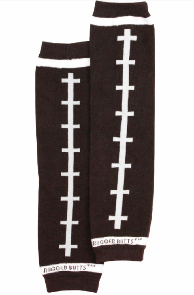 Football Leg Warmers  - Doodlebug's Children's Boutique