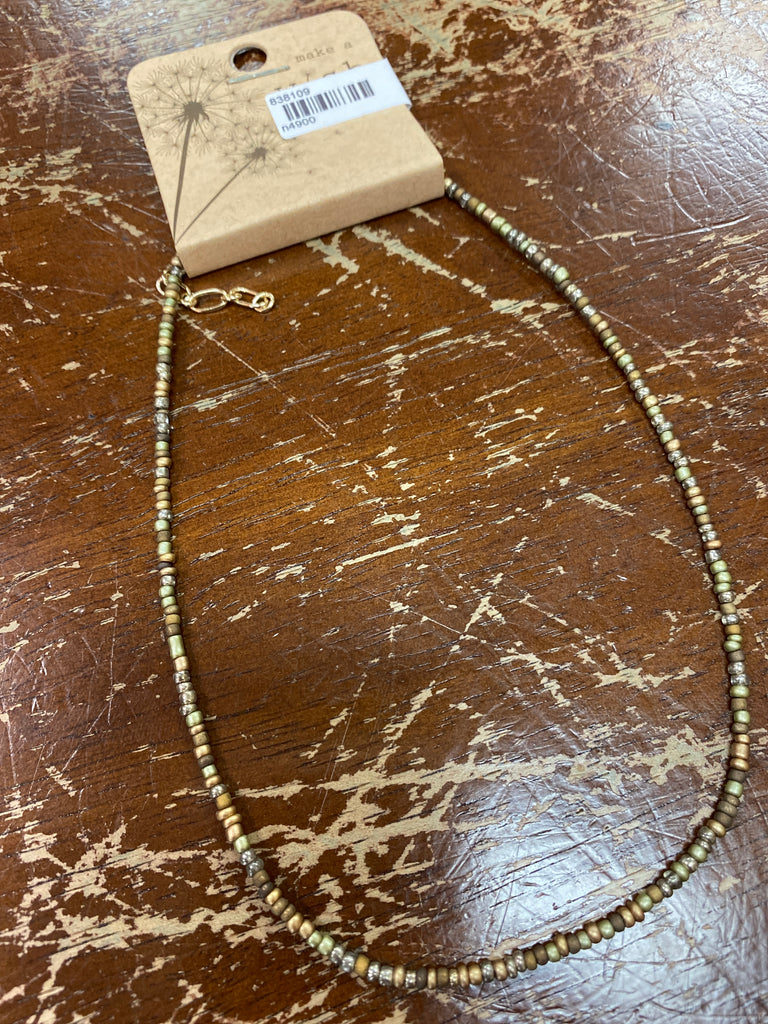 Assorted Chokers Earth Tones - Doodlebug's Children's Boutique
