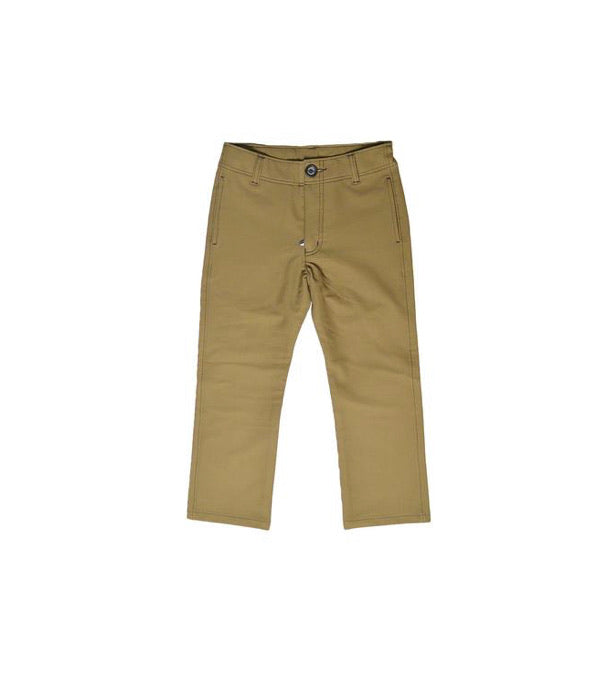 Khaki Pants  - Doodlebug's Children's Boutique