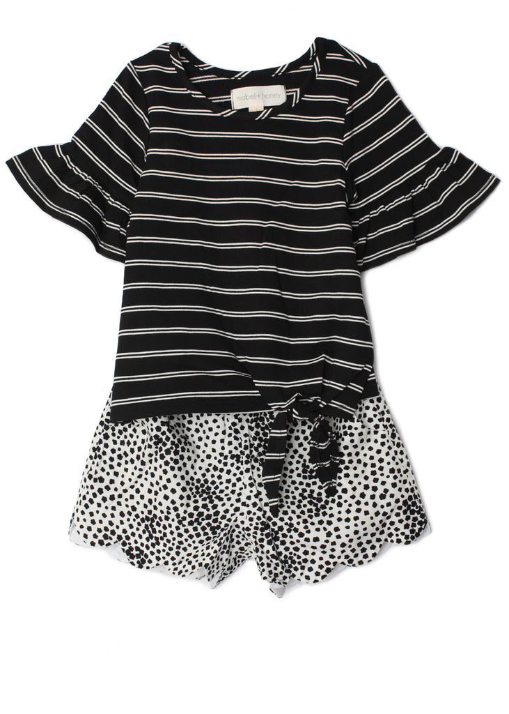 True and You Set in Black and White  - Doodlebug's Children's Boutique