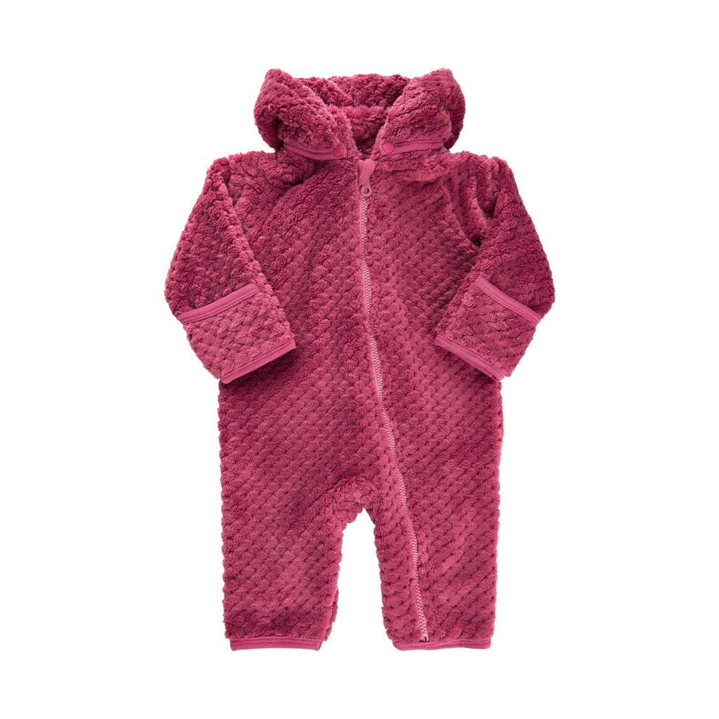 Minymo Rose Wine Teddy Suit