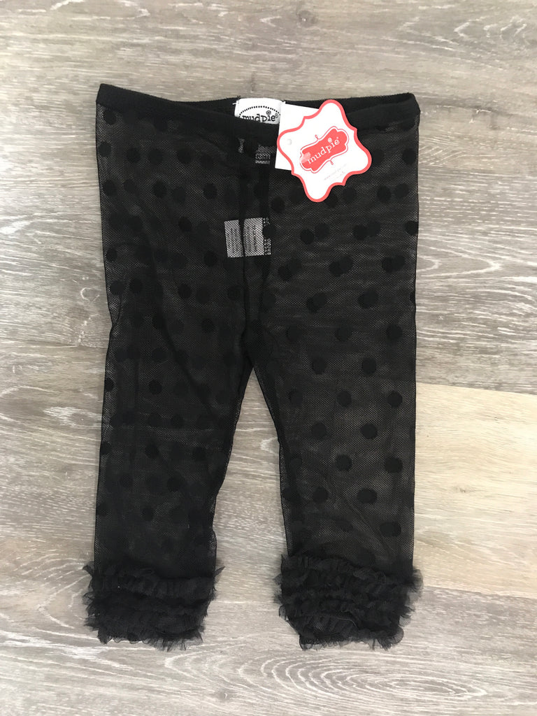 Mud Pie Lace Leggings