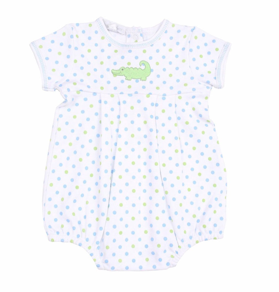Magnolia Baby Oh Snap Embroidered Bubble