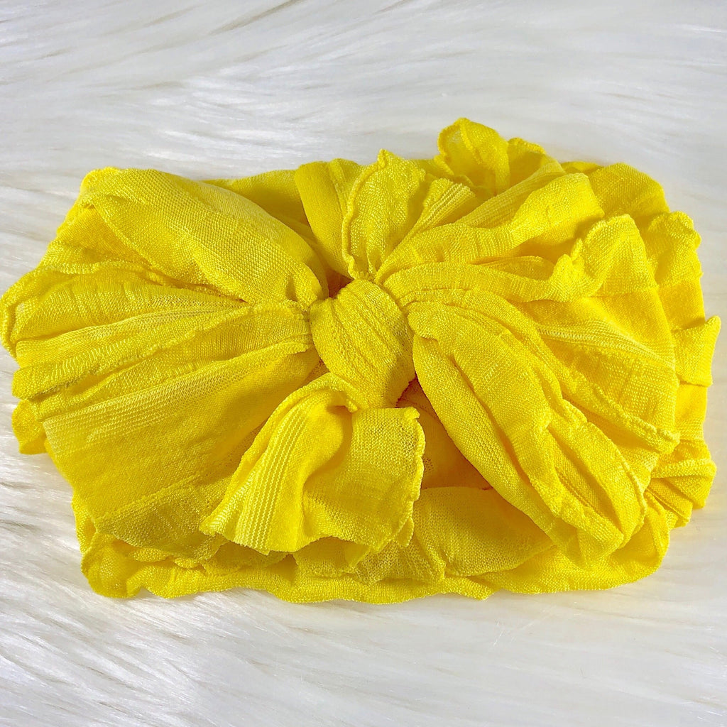 Bright Yellow Headband  - Doodlebug's Children's Boutique