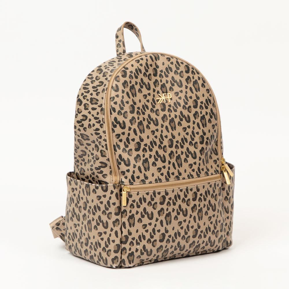 Freshly Picked Leopard City Pack + Zip Pouch