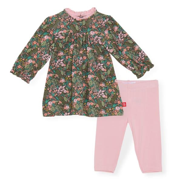 Harlow Modal Magnetic Dress and Leggings Set  - Doodlebug's Children's Boutique