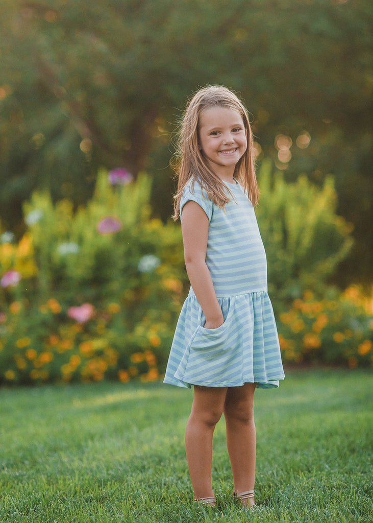 Bloom Your Heart Dress  - Doodlebug's Children's Boutique