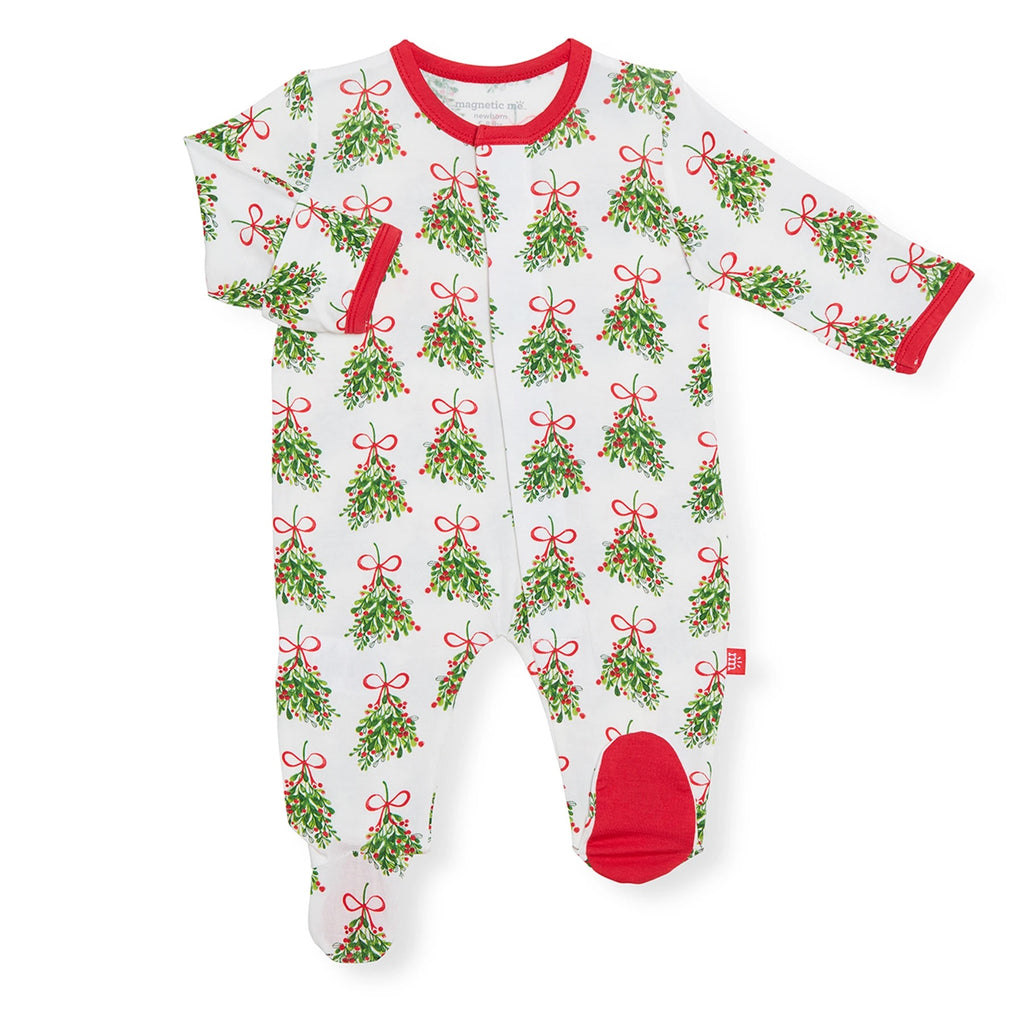 Kiss Me Modal Footie  - Doodlebug's Children's Boutique