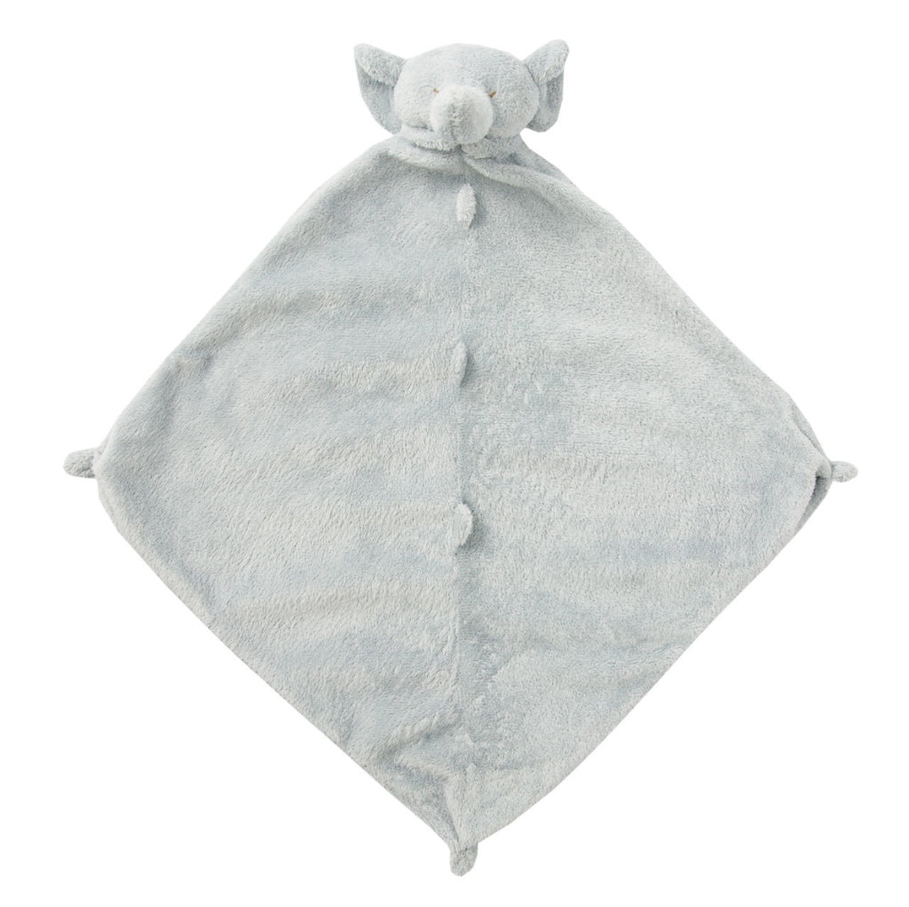 Grey Elephant Lovie Blankie  - Doodlebug's Children's Boutique