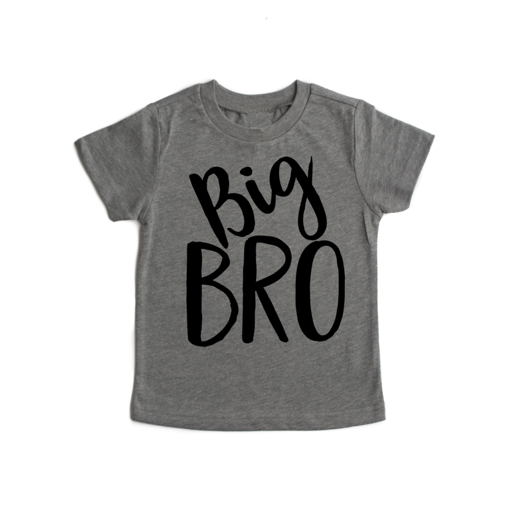 Big Bro Vinyl Tee  - Doodlebug's Children's Boutique