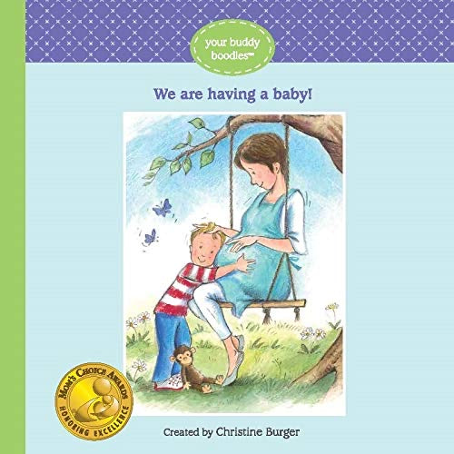 We are Having a Baby Book  - Doodlebug's Children's Boutique