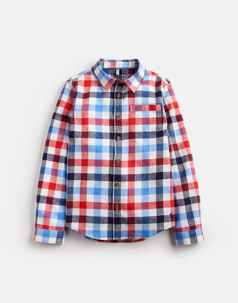 Joules Sark Long Sleeve Check Shirt