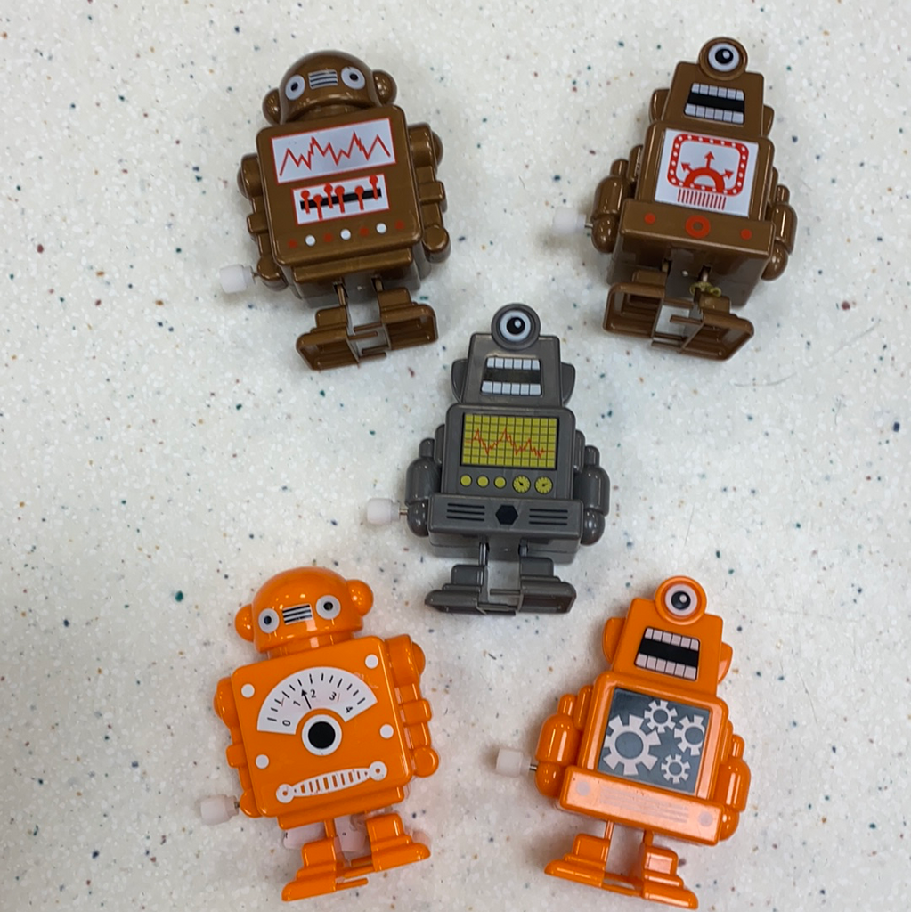 Wind Up Robot  - Doodlebug's Children's Boutique