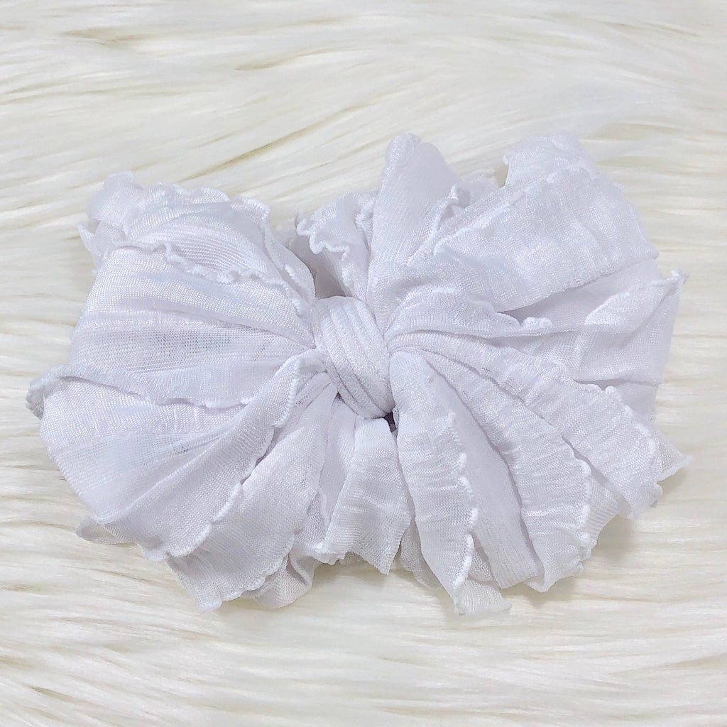 White Headband White - Doodlebug's Children's Boutique