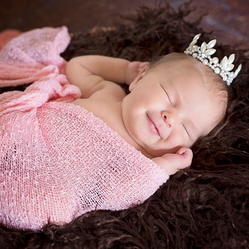 The Daisy Baby Heirloom Crown