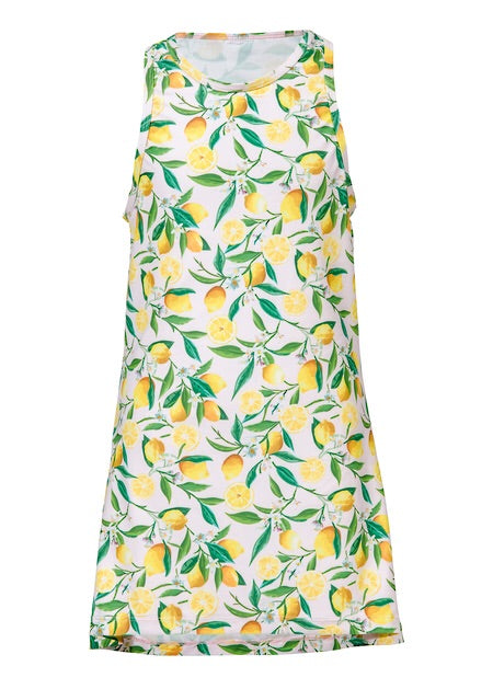 Snapperrock Lemon Swim Coverup Dress