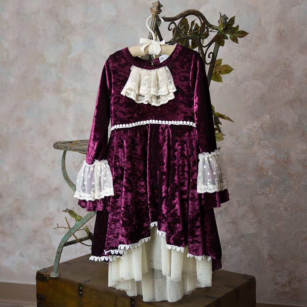 Frilly Frocks Victoria Big Girl Dress