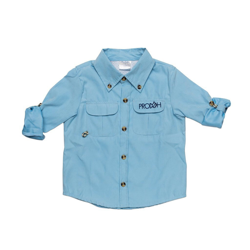 Prodoh Solid Button Down Shirt
