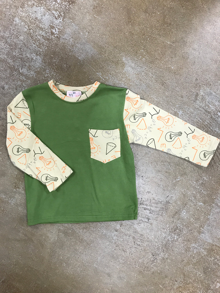 Pete and Lucy Genius Shirt  - Doodlebug's Children's Boutique
