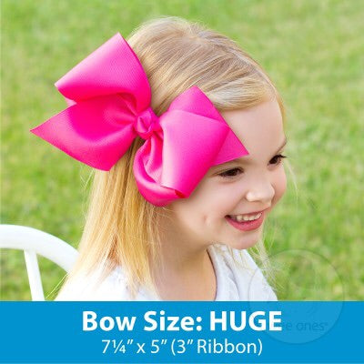 Wee Ones Huge Chevron Bow