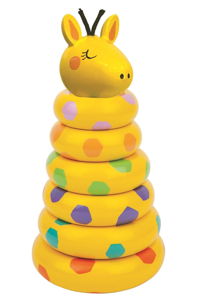 Giraffe Stacking Toy  - Doodlebug's Children's Boutique