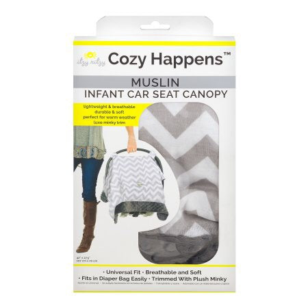 Itzy Ritzy Cozy Happens Infant Car Seat Canopy and Tummy Time Mat