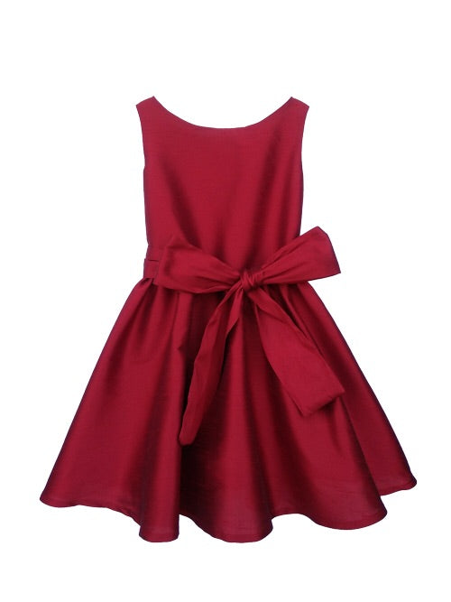 Five Loaves Two Fish Red Holiday Lola Dress