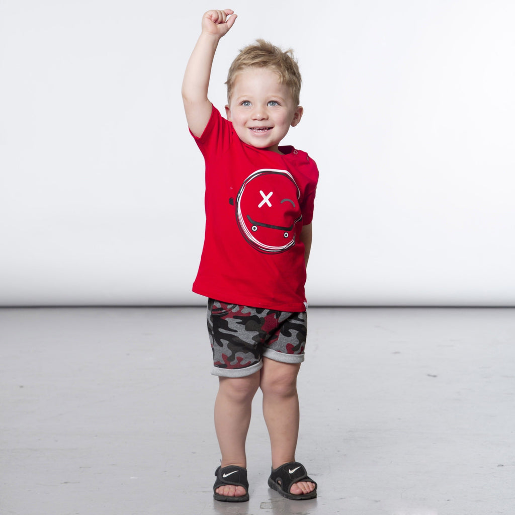 Happy Skate Tee  - Doodlebug's Children's Boutique