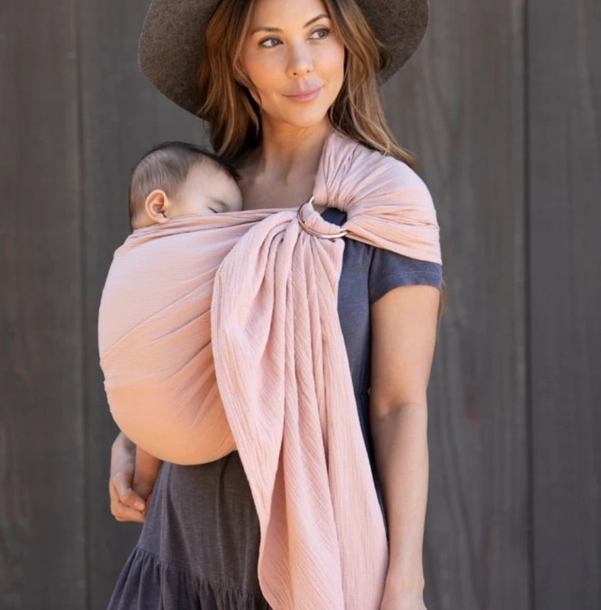 Ring Sling in Rose  - Doodlebug's Children's Boutique