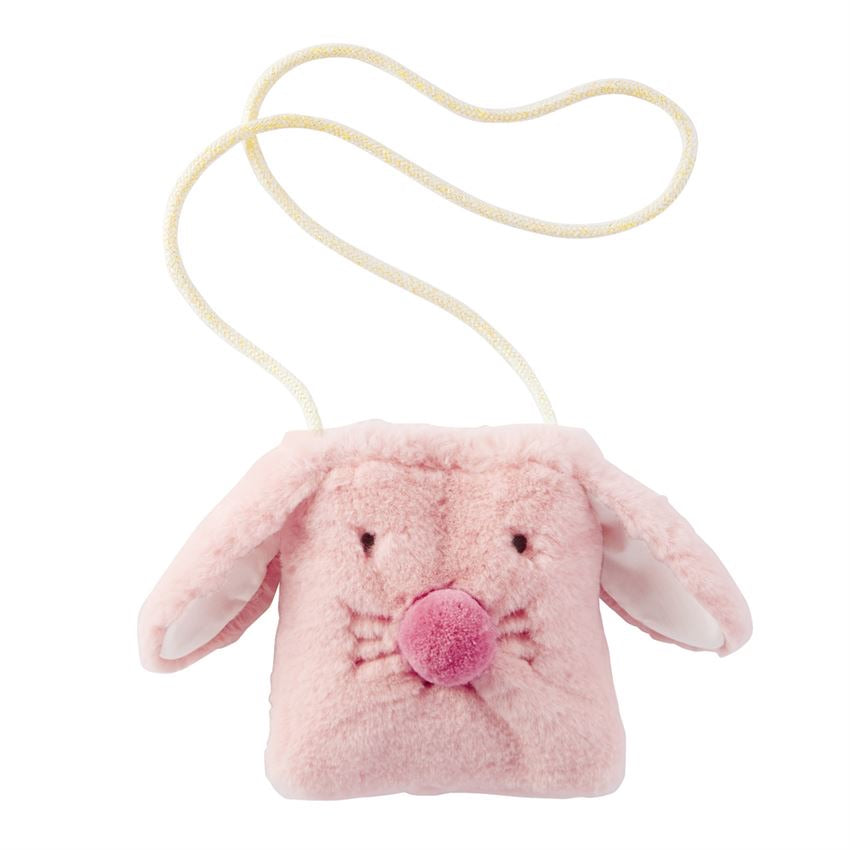 Pink Bunny Purse  - Doodlebug's Children's Boutique