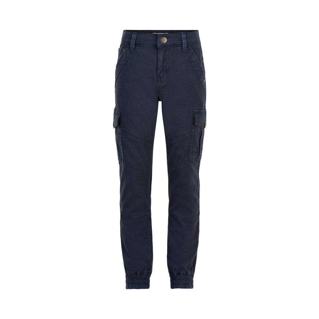 Navy Cargo Joggers  - Doodlebug's Children's Boutique
