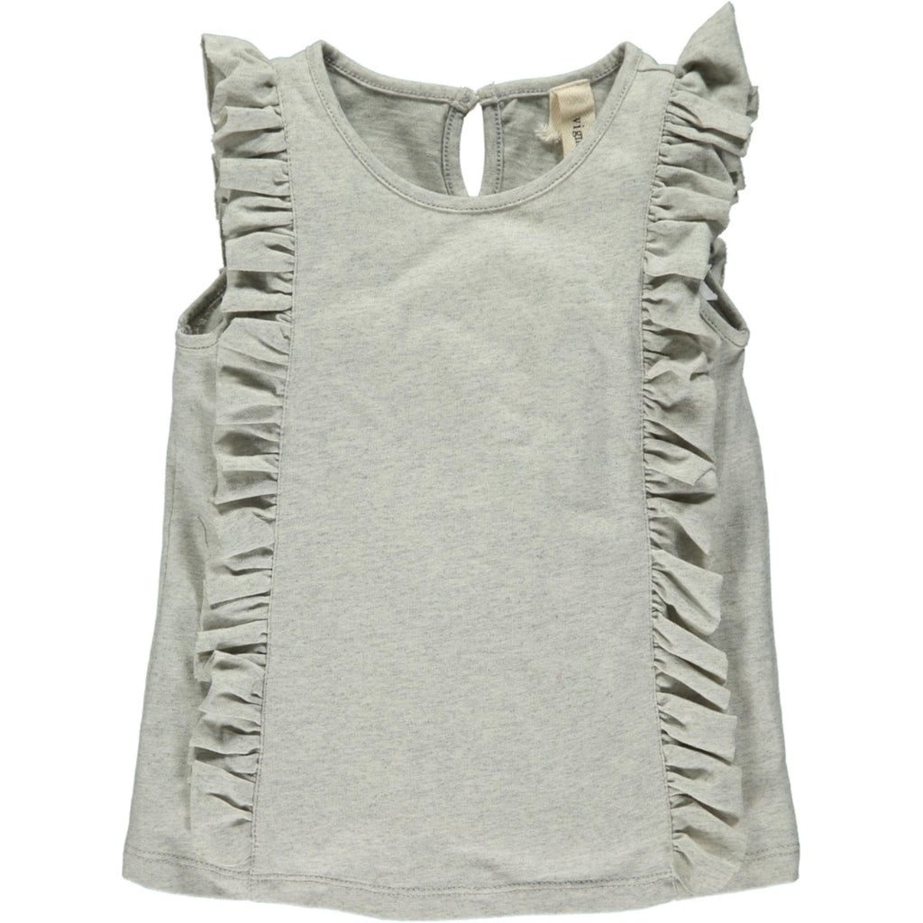 Pippin Tank in Dove Dove / 2T - Doodlebug's Children's Boutique