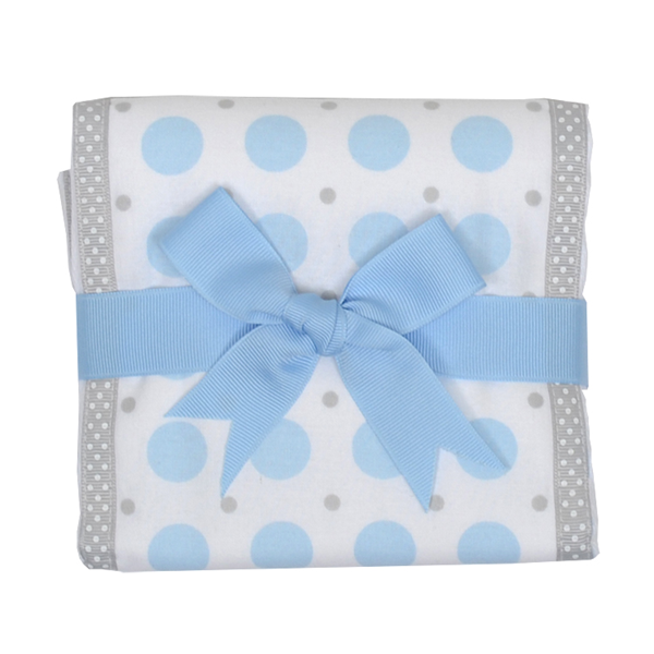 Blue Elephant Burp Pad Blue Elephant - Doodlebug's Children's Boutique