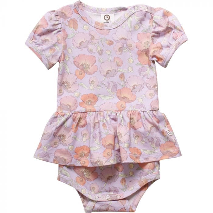 Spicy Flower Body Suit  - Doodlebug's Children's Boutique