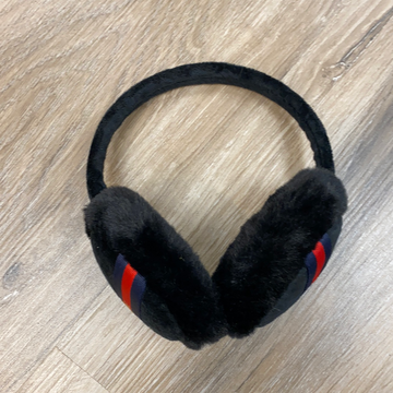 Ear Muffs in Black