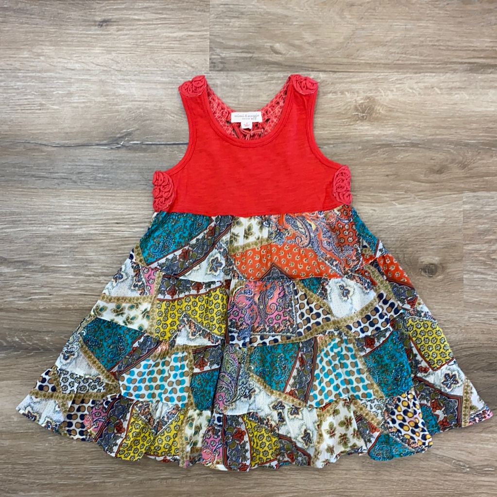 Crochet Back Festival Dress  - Doodlebug's Children's Boutique