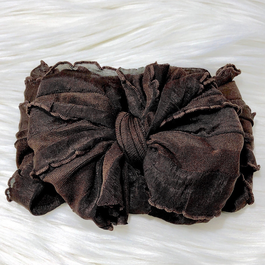 Brown Headband  - Doodlebug's Children's Boutique