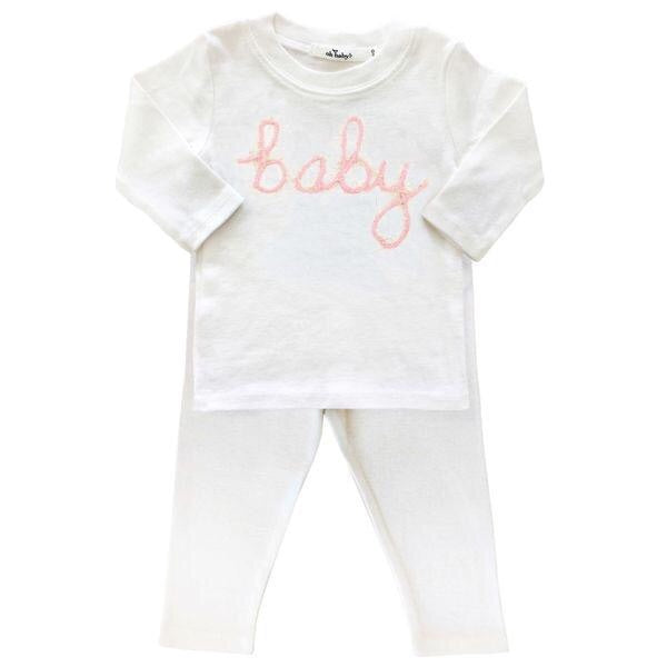 Oh Baby! Pink Baby Set  - Doodlebug's Children's Boutique