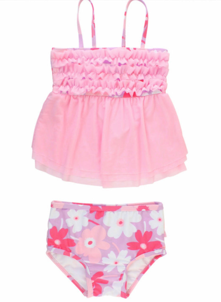 Happy Petals Tankini  - Doodlebug's Children's Boutique