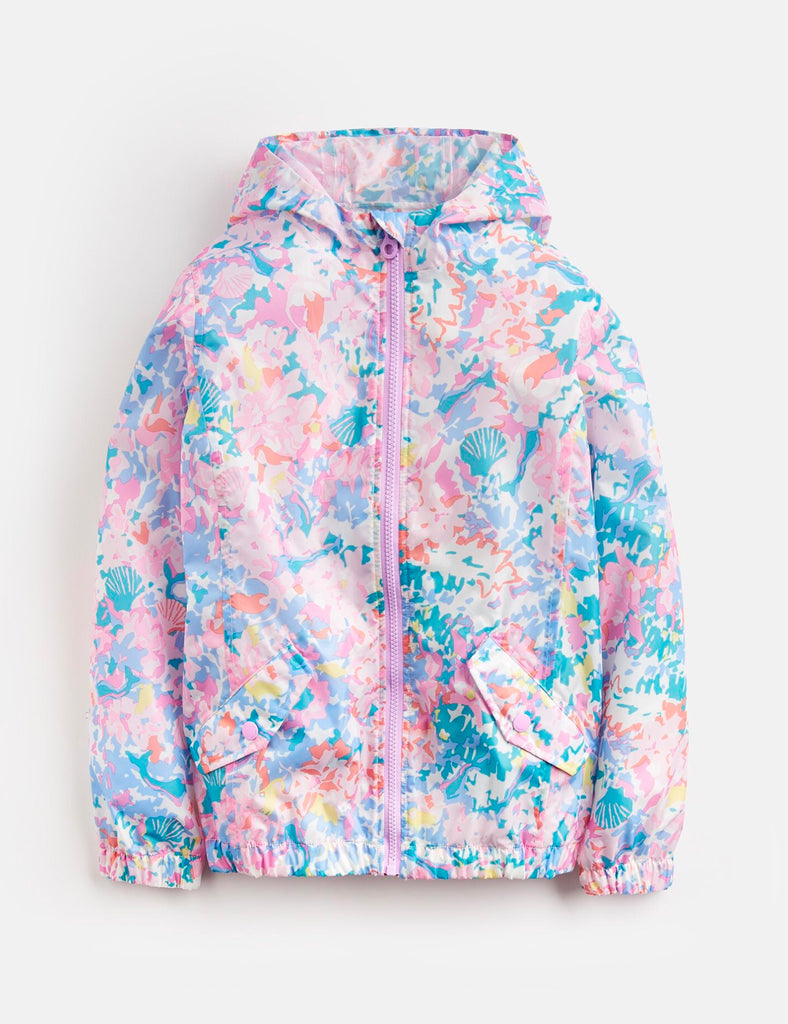 Joules Golightly Short Packable Rain Jacket