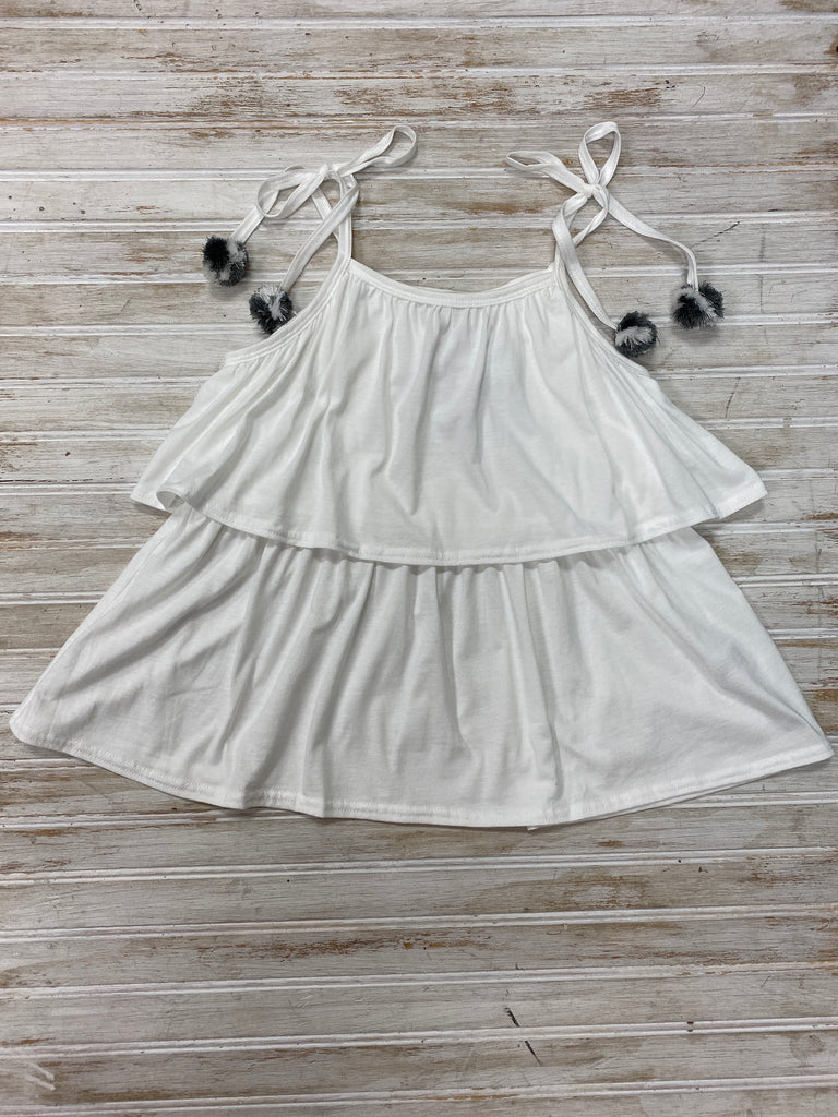 Sunkissed Tank in Ivory  - Doodlebug's Children's Boutique