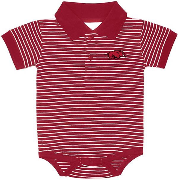 Two Feet Ahead Arkansas Razorback Polo Creeper