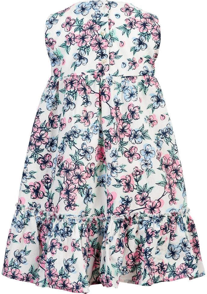 Floral Cloud Dress  - Doodlebug's Children's Boutique