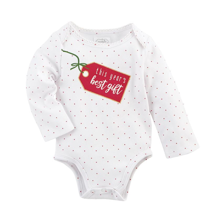 Best Gift Christmas Crawler Best Gift / 0-6 months - Doodlebug's Children's Boutique