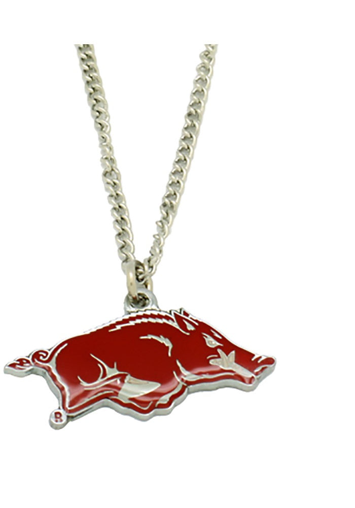 Arkansas Razorbacks Necklace  - Doodlebug's Children's Boutique